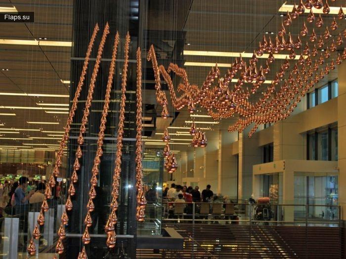 Аэрогавань будущего — аэропорт Чанги