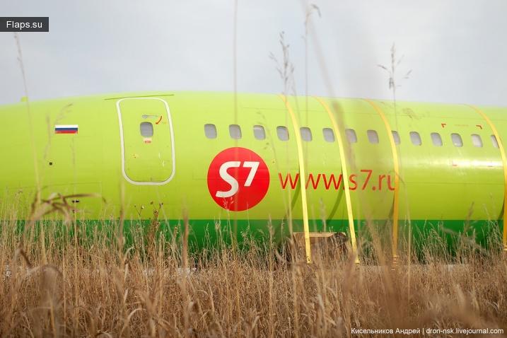 Транспортировка ТУ-154М по земле