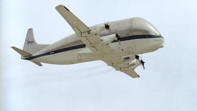 Транспортный самолет для негабаритных грузов
