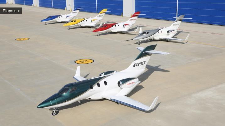 Остались последние штрихи доводки роскошного реактивного самолета HondaJet