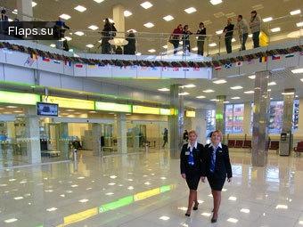 Терминал  аэропорта Кольцово