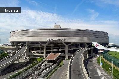 Терминал международного аэропорта Шарль-де-Голль (Париж)