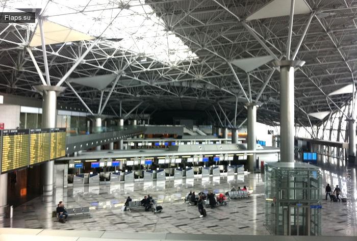 Терминал аэропорта Внуково