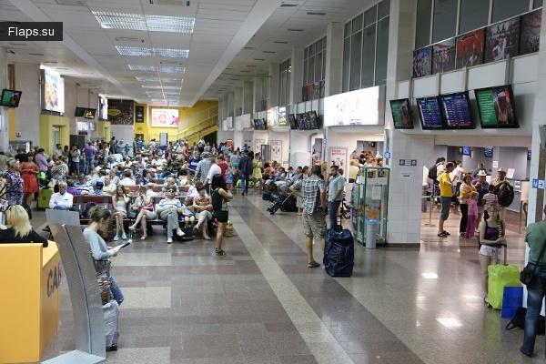 Терминал аэропорта Пашковский