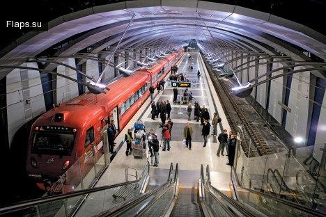 Аэроэкспресс Внуково-Киевский вокзал
