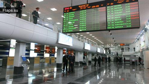 Терминал аэропорта Иркутск