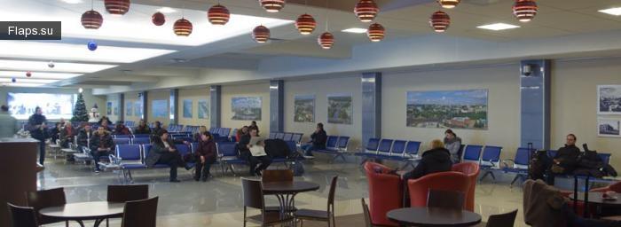 Терминал аэропорта Омск