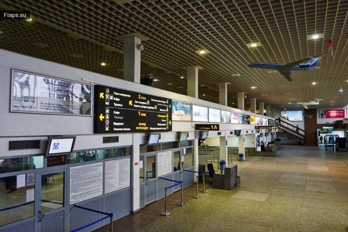 терминал аэропорта Рощино