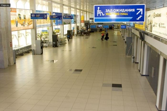 Терминал аэропорта Челябинск