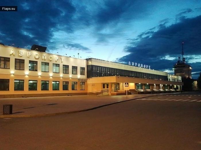 Аэропорт Рощино