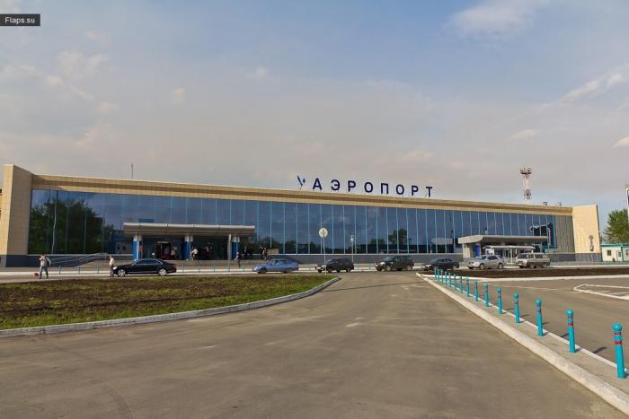 Главный терминал аэропорта Челябинск