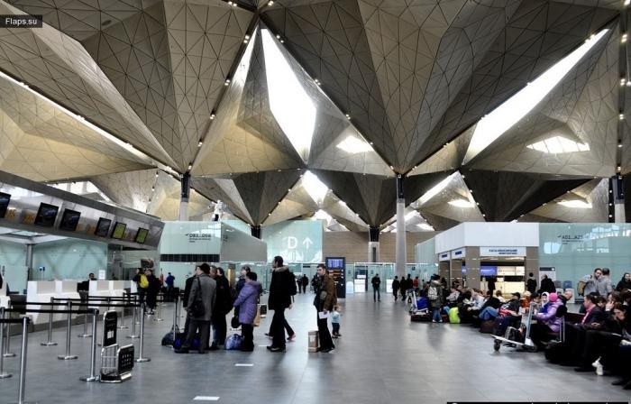 Терминал аэропорта Пулково