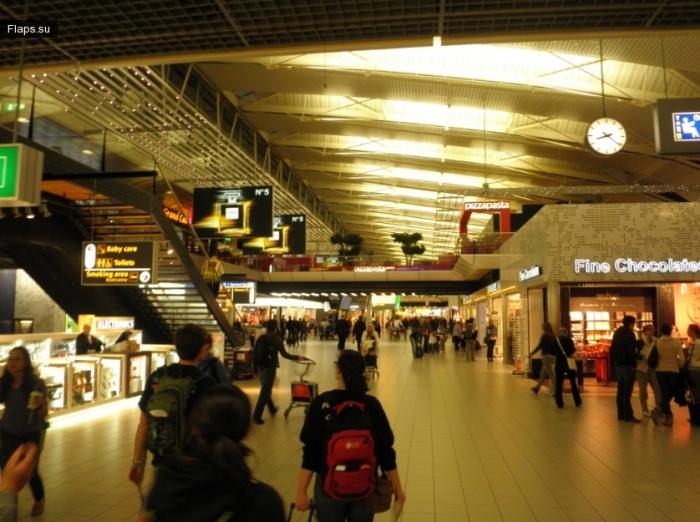 Терминал аэропорта Схипхол