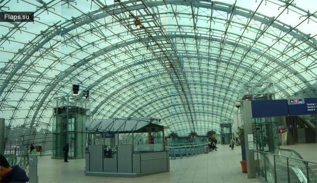Терминал аэропорта Франкфурт-на-Майне