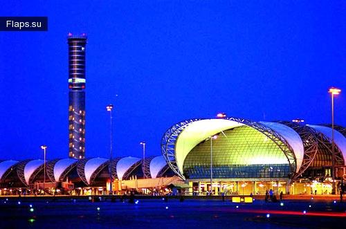 Терминал аэропорта Суварнабхуми