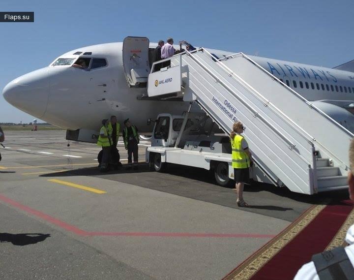 Первый рейс Bravo Airways из Киева в Одессу