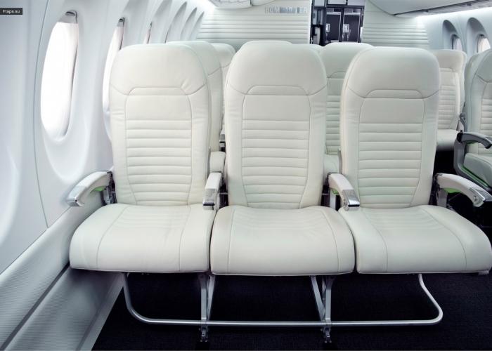 Салон Bombardier C Series 100
