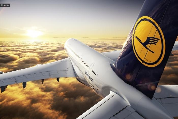 Подарки от Lufthansa