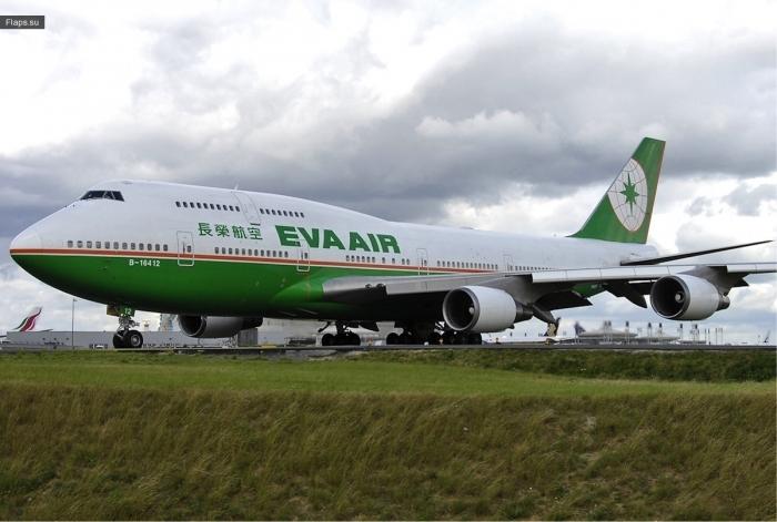 EVA Air на 6 месте рейтинга Jacdec