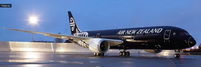 Air New Zealand на 2 месте рейтинга Jacdec 2017
