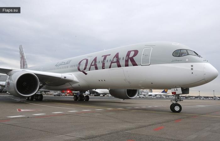 Qatar Airways в аэропорту Новой Зеландии