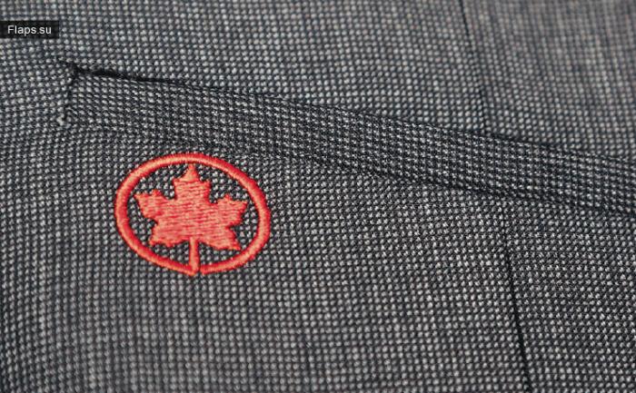 Обновленная униформа бортпроводников Air Canada
