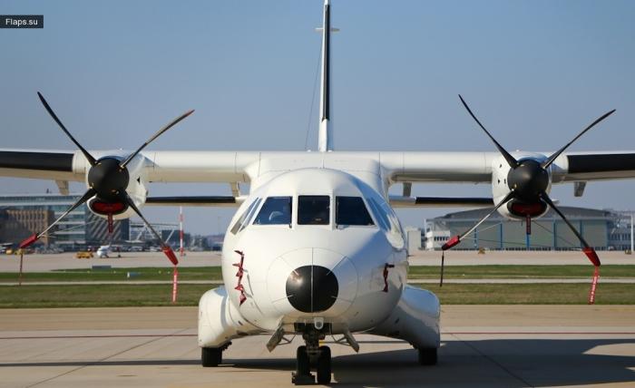 Prescott Support / CASA CN-235-300 / N768KD