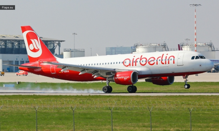 Air Berlin / Airbus A320-214 / D-ABHA