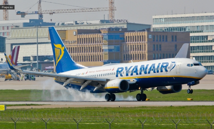 Ryanair / Boeing 737-8AS(WL) / EI-DHT