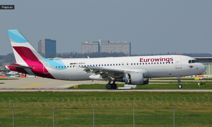 Eurowings / Airbus A320-214 / D-ABFO