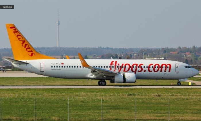 Pegasus / Boeing 737-82R(WL) / TC-AAU