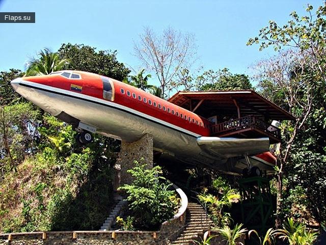 Самолет-отель Boeing 727